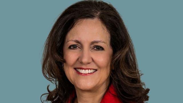 Ein Portrait von Christina Bürgi.