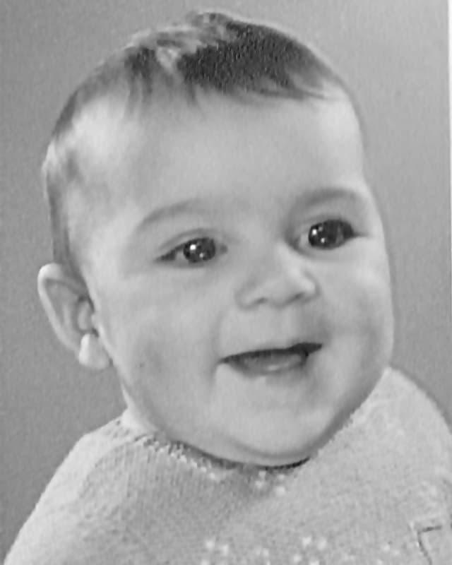 Porträt eines Babys.