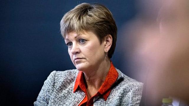 Demissiunescha: La ministra da l'ambient danaisa Eva Kjer Hansen.