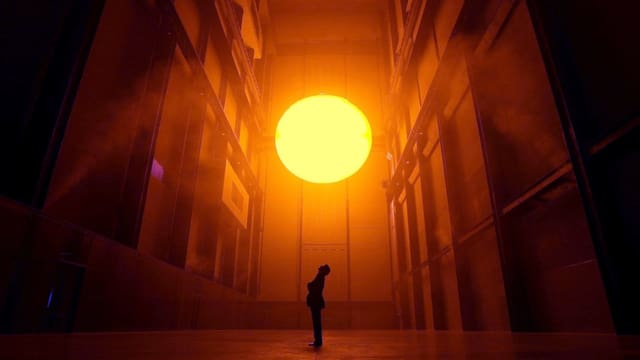 Die «Sonne» von Ólafur Elíasson in der Tate Modern.