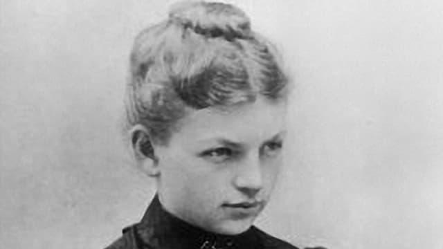 Clara Immerwahr im Porträt.