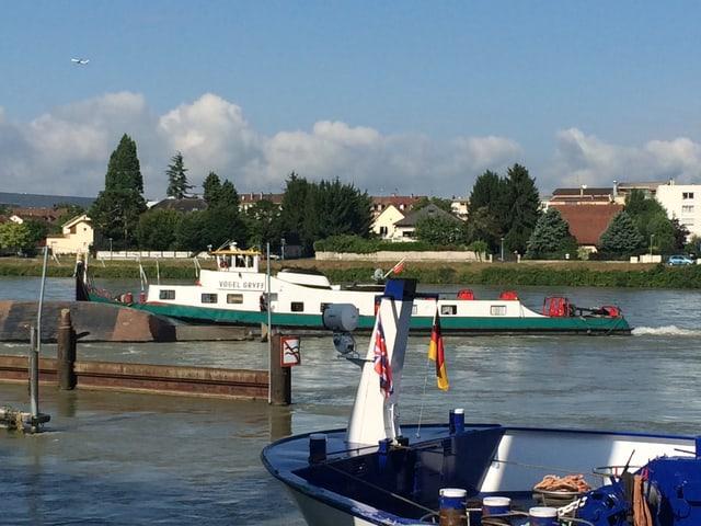 Bottsunglück auf Rhein