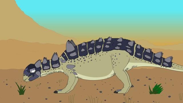 Video «Ralph und die Dinosaurier: Euoplocephalus (5/26)» abspielen
