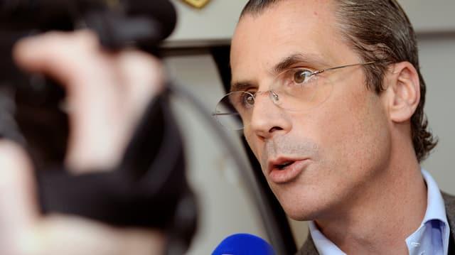 L'interprendider e CEO da Denner, Philippe Gaydoul