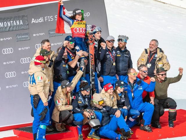 Italien Skiteam