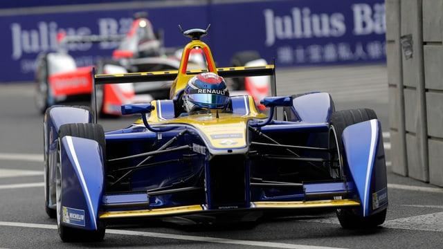 Sébastien Buemi ha cuntanschì l'arrivada sco 12avel.