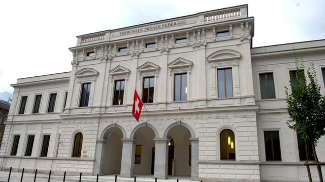 Purtret dal Tribunal penal federal a Bellinzona.