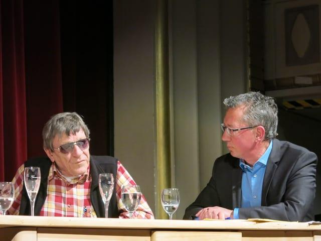 Polo Hofer und Peter Brandenberger