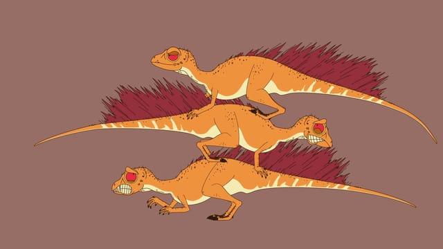 Video «Ralph und die Dinosaurier: Fruitadens (6/26)» abspielen
