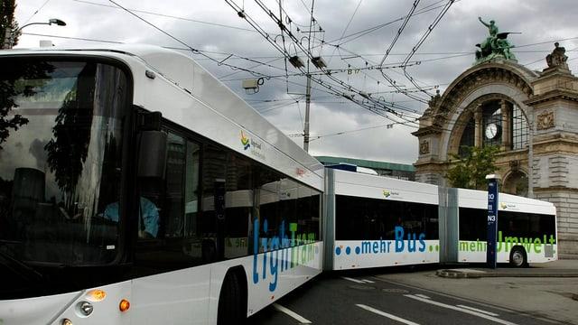 Bus in der Stadt Luzern