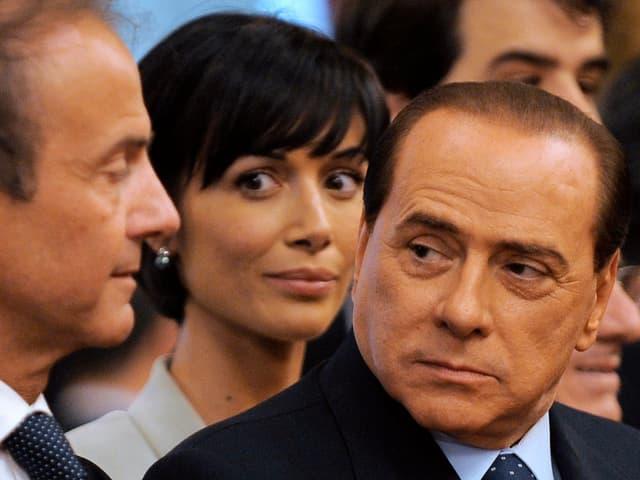 Carfagna mit Berlusconi