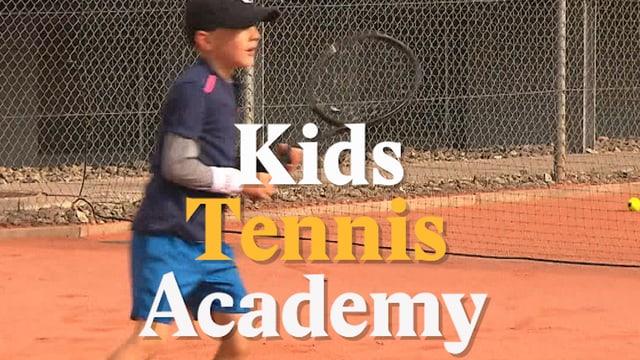 Laschar ir video «Kids Tennis Academy - Ils proxims Federers?»