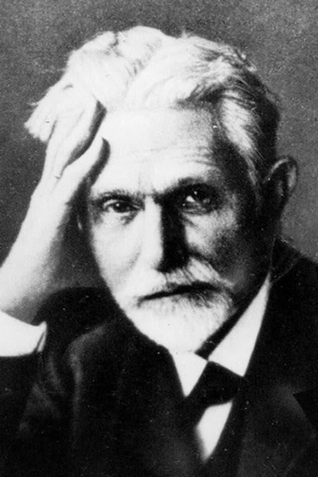 Porträt von August Bebel.