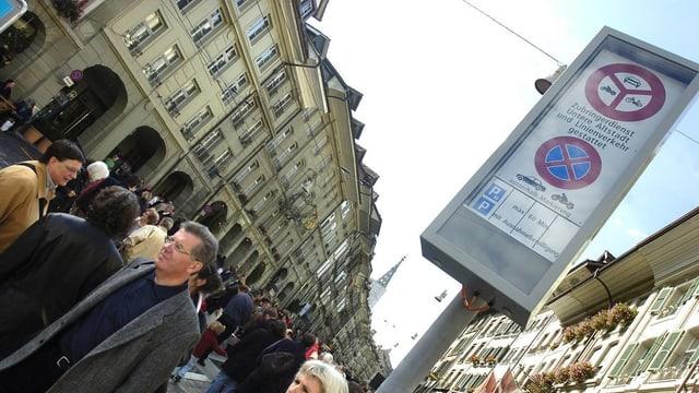Die Begegungszone Untere Altstadt gefällt - mit Ausnahme der Parksünder.