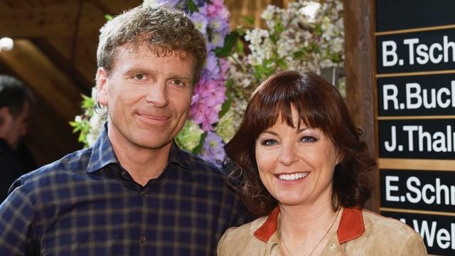 Dani Müller und Monika Fasnacht