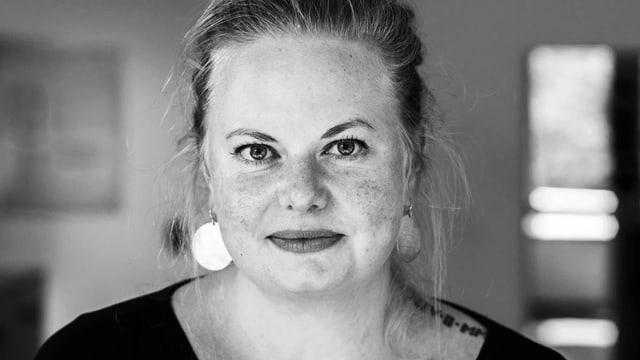 Sozialarbeiterin Olivia Allemann