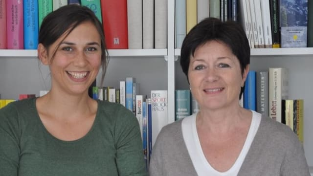 Anna-Alice Dazzi e Silvana Derungs
