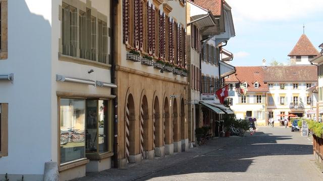 Blick in die Murtner Altstadt