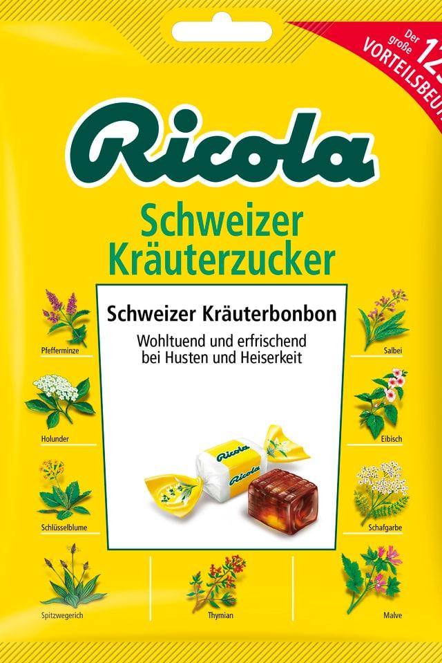 Gelbe Packung Ricola