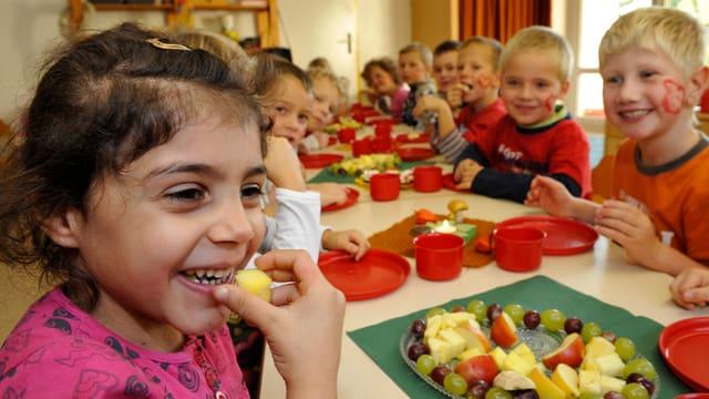 Eine bunte Mischung: Die Kindergärten im Matthäus-Quartier sind multikulturell.