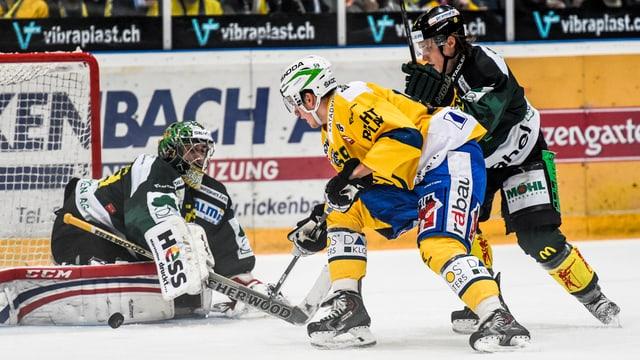HCD encunter Hockey Thurgau.