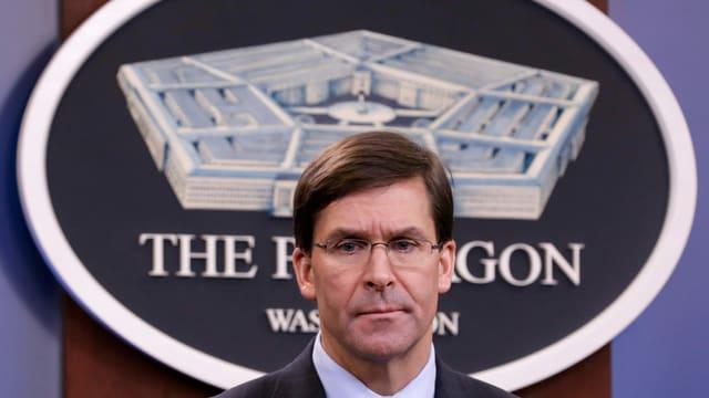 US-Verteidigungsminister Mark Esper