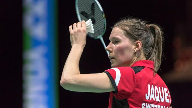 Sabrina Jaquet, la giugadra da Badminton.