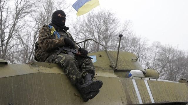 Ils separatists pro-russ vulan sa retrair cun las armas grevas sche l'armada ucranaisa fa il medem.