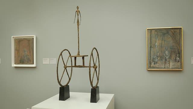 Video «ARTgenossen: Alberto Giacometti (3/5)» abspielen