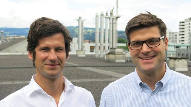 Paul Philipp Hug und Andreas Tobler.