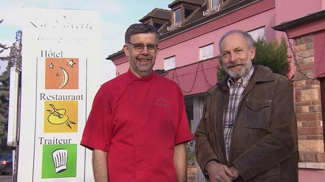 Video «Elsass – Tag 3 – Restaurant La Palette, Wettolsheim» abspielen