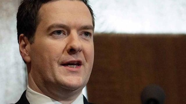 Britischer Finanzminster George Osborne.
