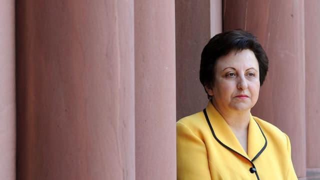 Friedensnobelpreisträgerin Shirin Ebadi.