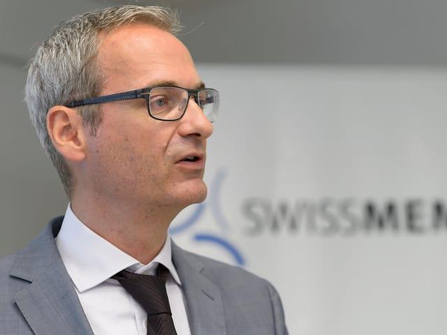 Swissmem-Direktor Dietrich.