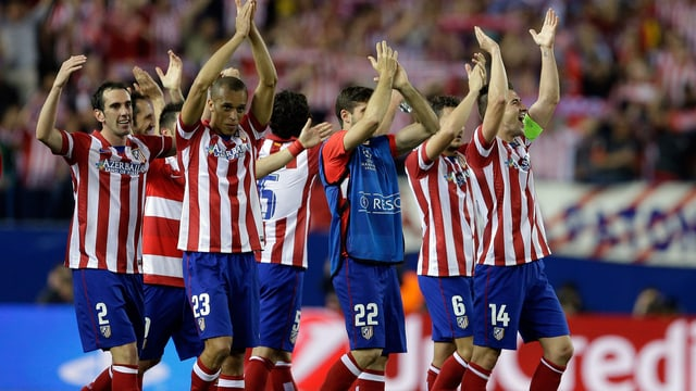 Atletico Madrid will auch gegen Chlesea jubeln.