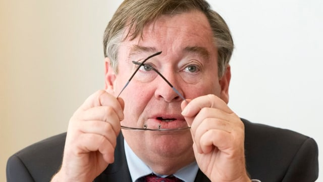 Martin Vollenwyder, ehemaliger Stadtrat der Stadt Zürich