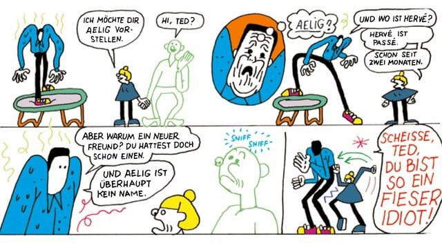 Auschnitt aus dem Comic
