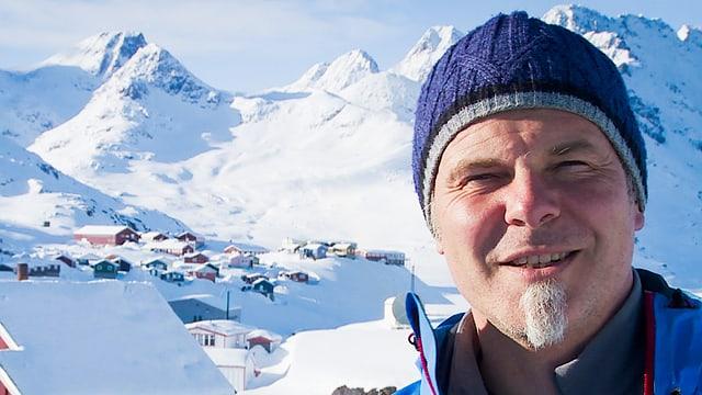 Multimediajournalist Robert Hansen in Grönland