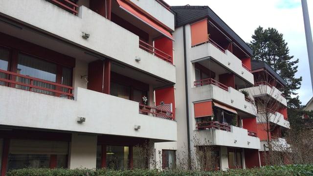 Die Alterswohnungen an der Taubenhausstrasse in der Stadt Luzern.