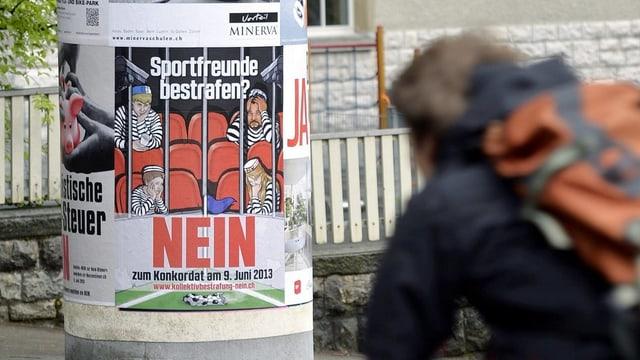 Nicht nur in Basel ist das Hooligan-Konkordat umstritten - Zürich stimmt im Juni darüber ab.