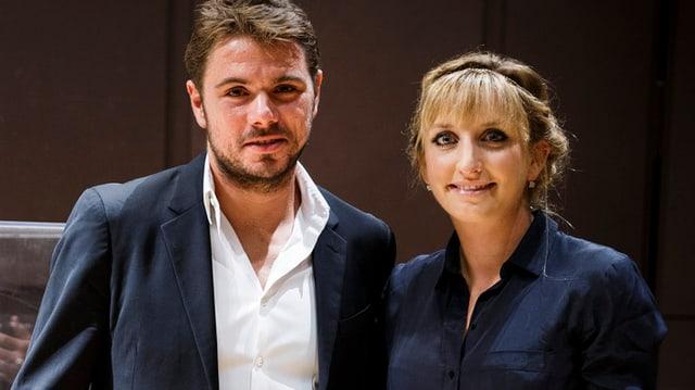 Stan Wawrinka und Timea Bacsinszky.