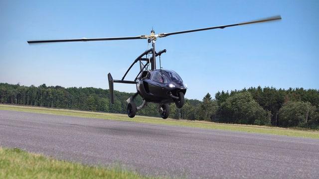 Bild des ultraleichten Hubschraubers von PAL-V.