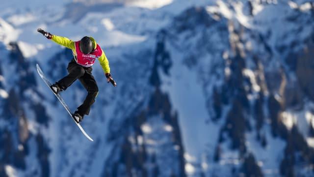 Cuppa mundiala e gist anc en l'Engiadina – la snowboardista Bianca Gisler