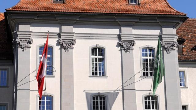 Die neue Pfalz, ein Teil des St. Galler Regierungsgebäudes