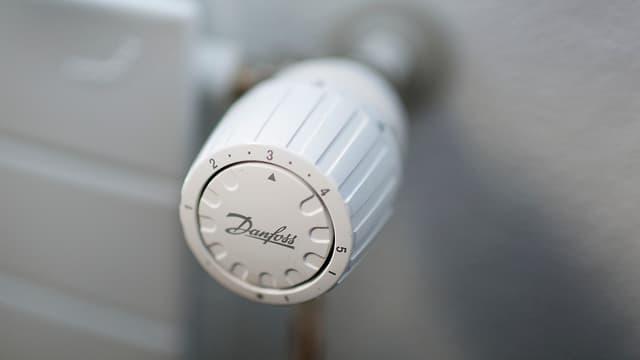 Thermostat an Heizkörper