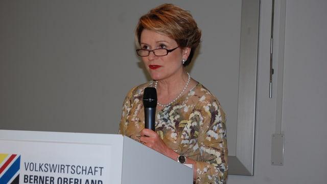 Seco-Staatssekretärin Marie-Gabrielle Ineichen