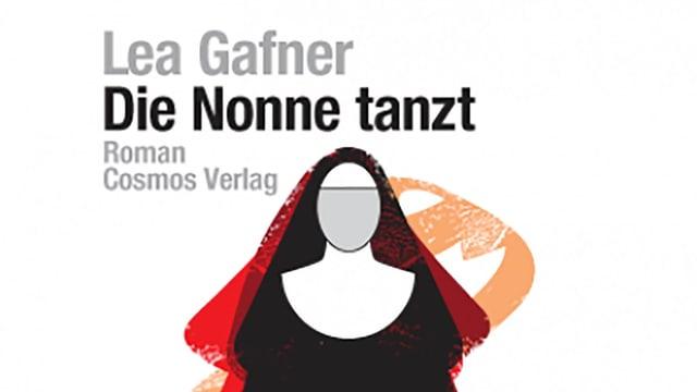 Buchtitel von «Die Nonne tanzt» mit einer gezeichneten Nonne.