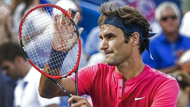 Roger Federer, il numer dus dal mund, ha be duvrà dus sets per cuntanscher il final.