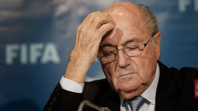 Purtret da Joseph Blatter.