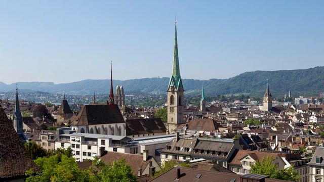 Stadtzentrum von Zürich